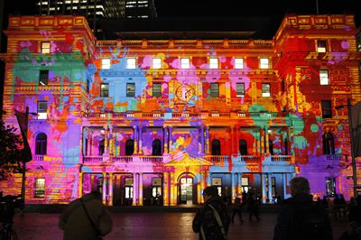 Vivid Sydney 2011 - Customs House