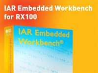 IAR Embedded Workbench for RX100