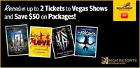 MGM Show Ticket Offer