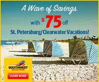 St. Petersburg/Clearwater Vacation Package