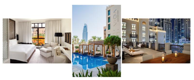 Vida downtown dubai goes green dubai blog for Vida boutique hotel dubai