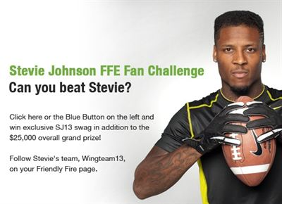 Stevie Johnson Challenge