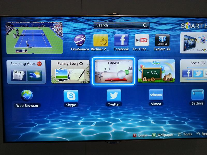 samsung apps smart tv