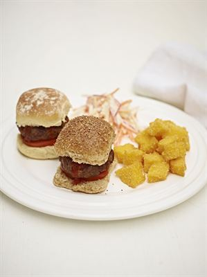 Slider Burgers Jamie Oliver