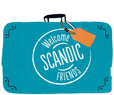 Scandic Friends- suitcase