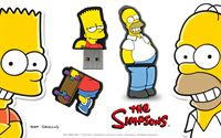 The Simpsons USB from Integral Homer and Bart