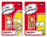 The Simpsons USB Integral retail packaging