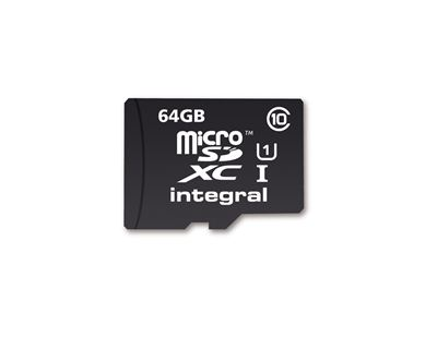 Integral UltimaPro microSDXC C10 64GB 40MBs