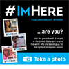 #ImHere photo logo