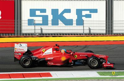 SKF 65 Years Scuderia Ferrari press release