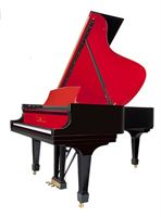 Tom Lee Music to Showcase New Red on Black Steinway Piano at Luxury Supercar Weekend