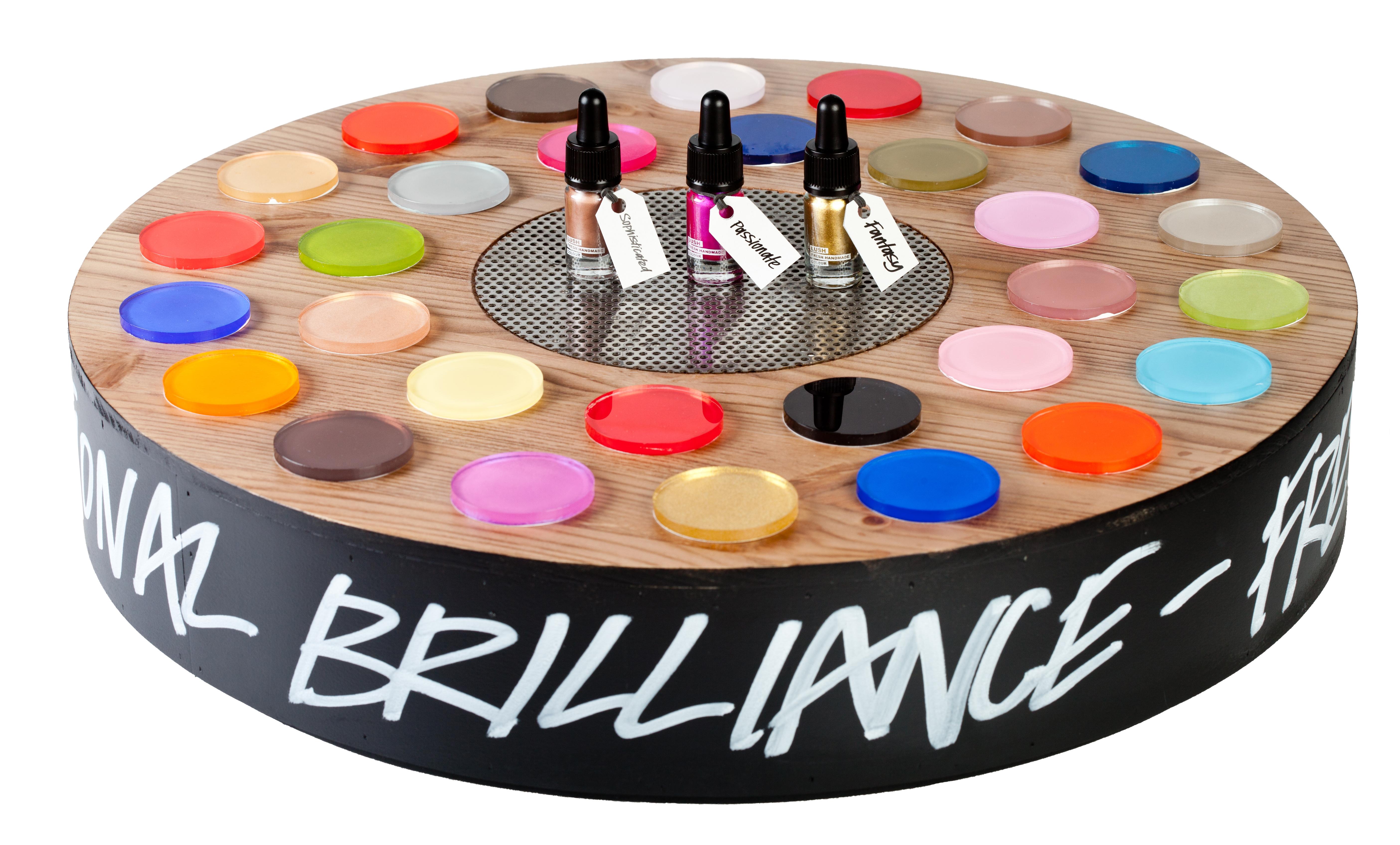 Lush launches emotional brilliance color cosmetics range news.