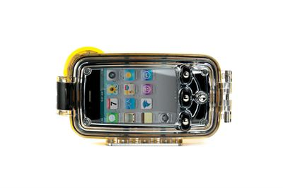 Watershot® underwater camera housing for the iPhone®