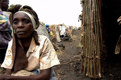 Photo IDPs DRC credit IDMC Nicolas Postal