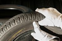 Inspection process of a part worn tyre