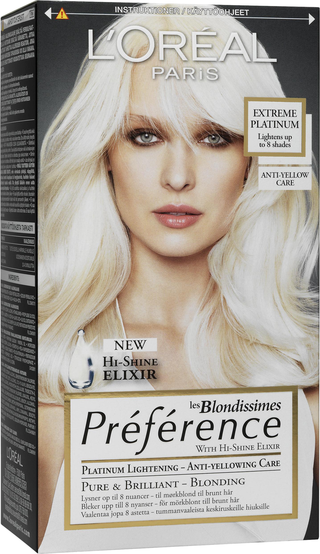 L'Oréal Paris Preference Extreme Platinum - L'Oréal Finland Oy