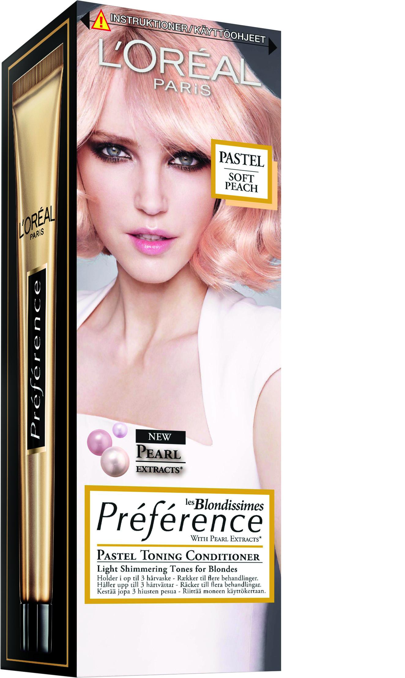L'Oréal Paris Preference -hiusväriuutuudet: Platinium-vaalennus ja Pastel -hoitava sävyte - L ...