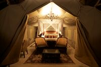 Selous Luxury CAmp - Tented Rooms