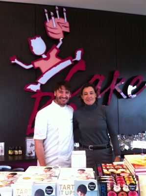 Eric Lanlard and Gaby Gramm