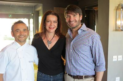Garth Almazan, Anetha Homan and Eric Lanlard