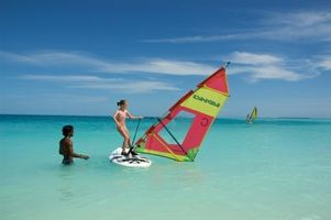 Child windsurfing - high res