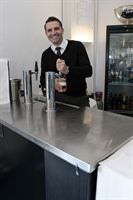 Adam Cafe at Towcester Racecourse with True s beer dispenser