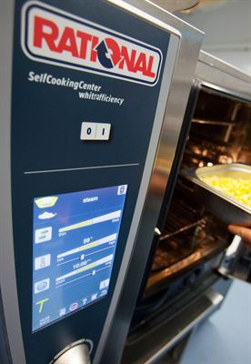 Rational's new SelfCookingCenter whitefficiency the easy way to expand menu options