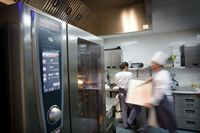 Rational combi steamers feature in the sustainable kitchen Stand F20 Restaurant 2012