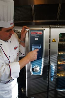 Rational s SelfCookingCenter Whitefficiency installs a Christmassy upgrade