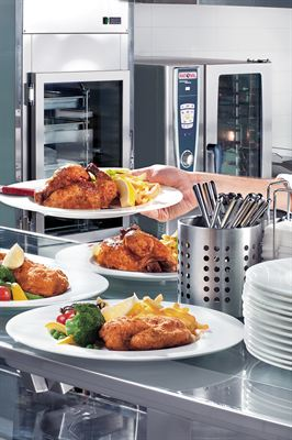 Rational delivers great food anytime for hospital visitors