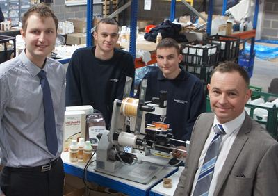 Furniture Clinic Apprentices with Nick Atkinson (Business Impact)
