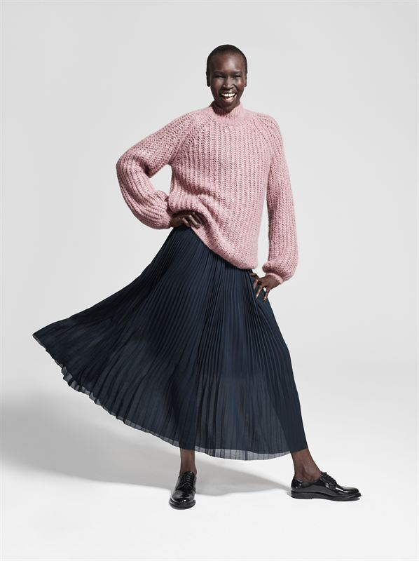 Lindex Fall fashion Heroes Alek Wek