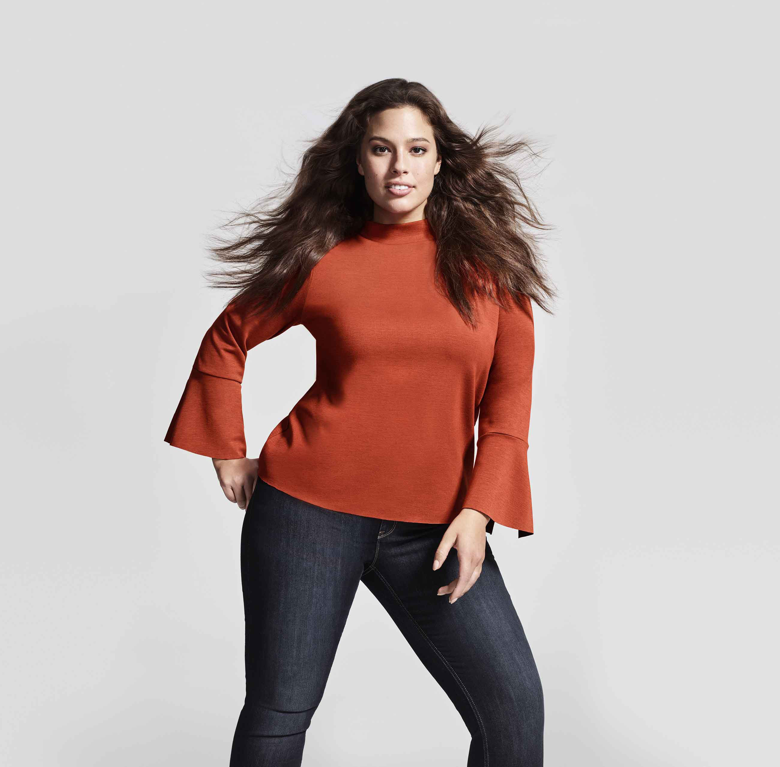 Www Ashly: Plus-size Models Ashley Graham & Candice Huffine Front