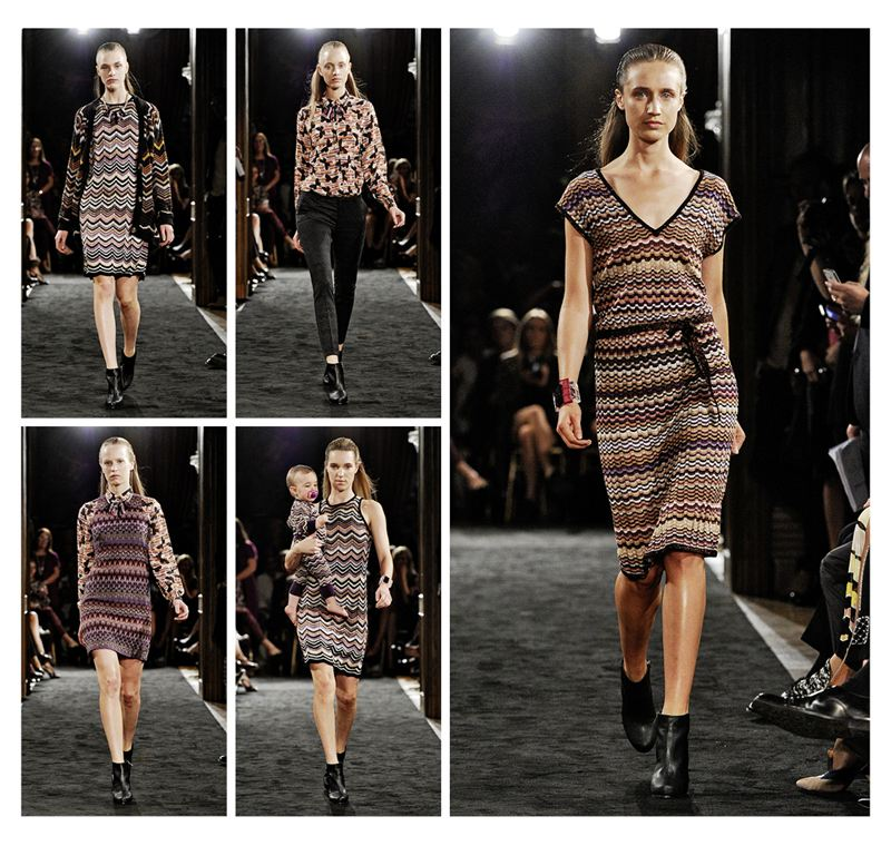 Lindex Missoni fashion show! - LINDEX