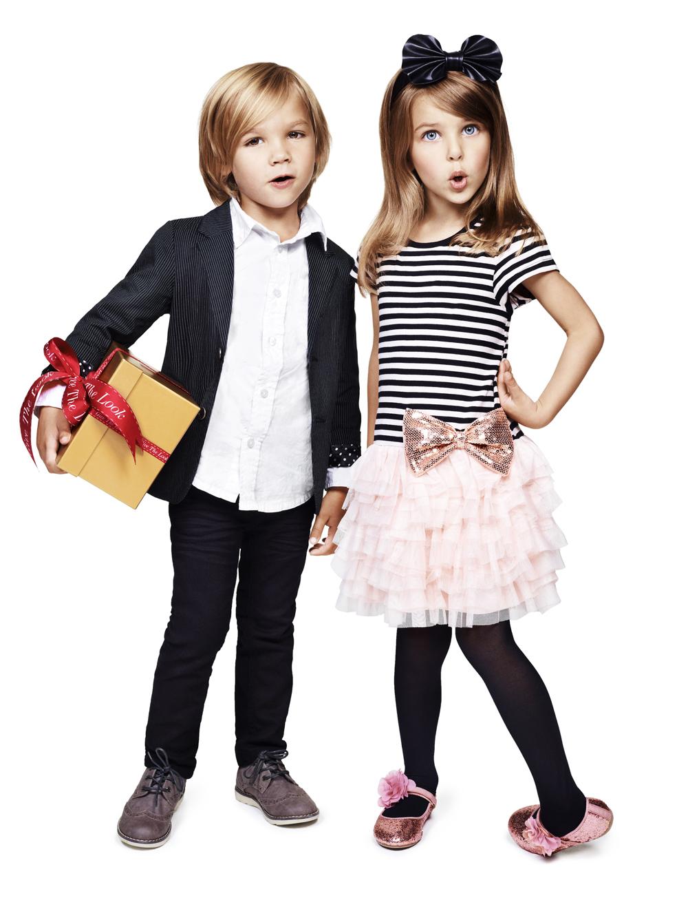 Девушки с детьми модные фото