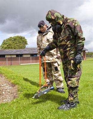 Argon Electronics UK Defence CBRN Centre Case study