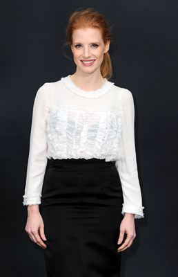Jessica Chastain attends the Chanel Fall/Winter 2013 Ready-to-Wear show as part of Paris Fashion Week at Grand Palais on March 5, 2013 in Paris, France