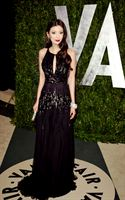 Rebecca Wang attends Vanity Fair Oscar Party 2012