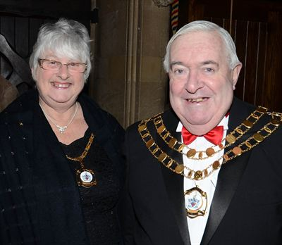 121212 Mayor and Mayoress of Swindon