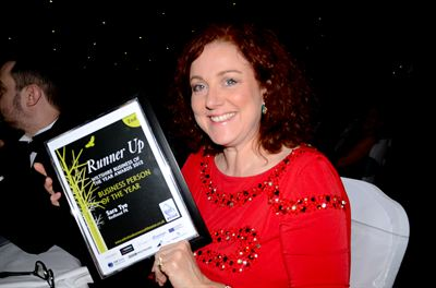 Sara Tye, redheadPR, runner up