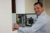 Jason Davis MD of ACES using an Energy Management System