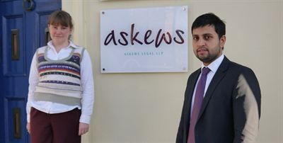 Kuljeet Sandhu and Catherine Wengraf of Askews Legal LLP