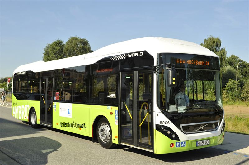 Environment In Focus 15 New Volvo Hybrid Buses For