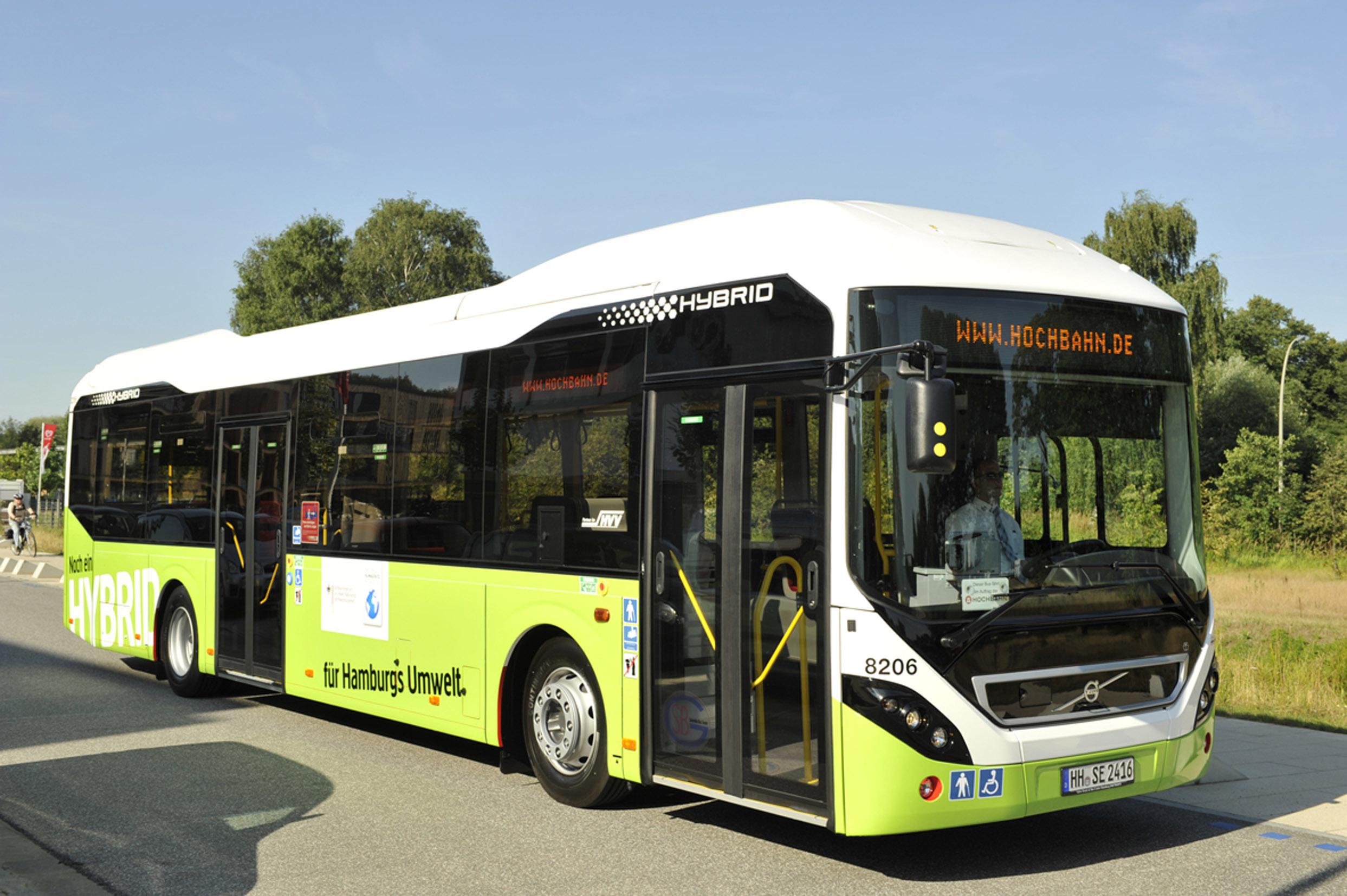 Volvo 7900 Hybrid Hamburg Volvo Buses