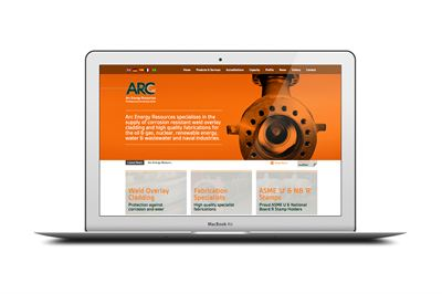 Arc Energy Resources Website