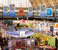 Natural &amp; Organic Products Europe wide shot