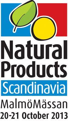 Natural Products Scandinavia 2013 logo