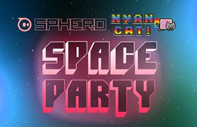 Sphero Nyan Cat SpaceParty logo
