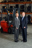 PGDT's Managing Director Hal Chenhall (left) and Curtiss-Wright's Kevin Rayment