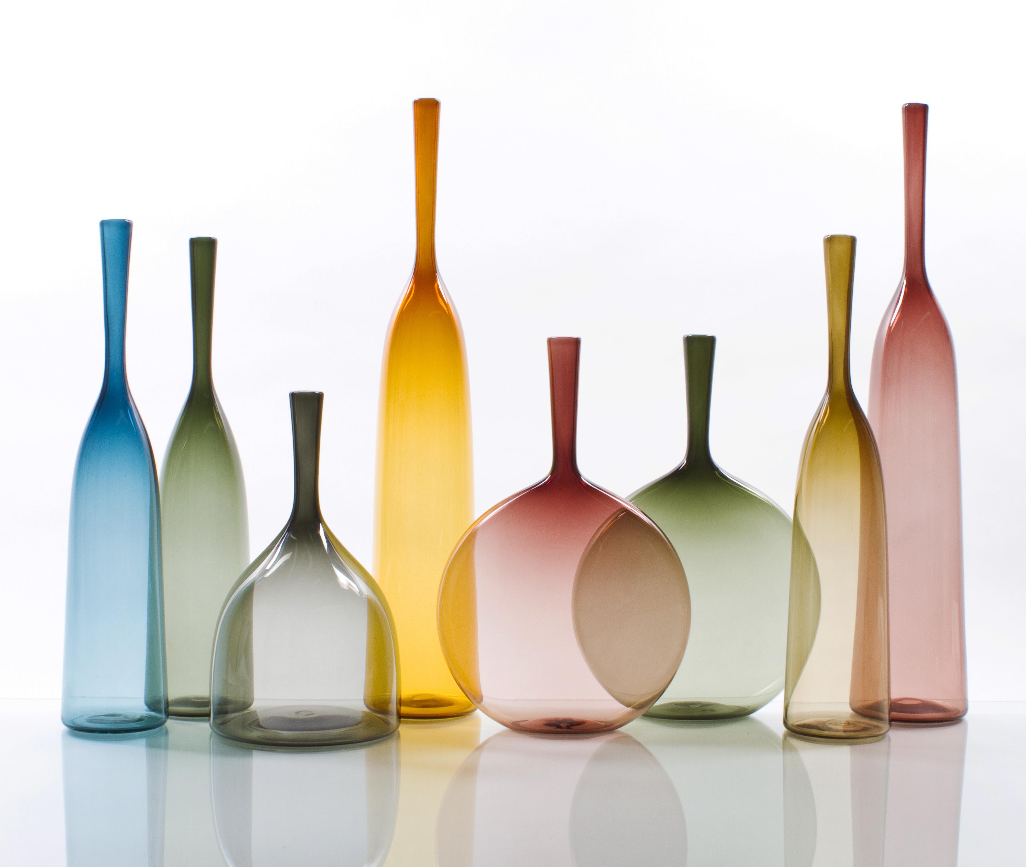 Contemporary Normandie 945: Joe Cariati Angelic Glass Bottle